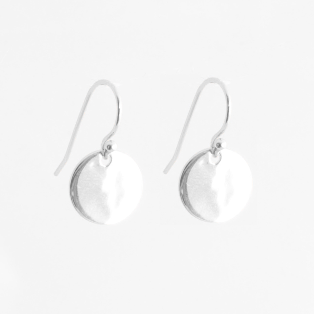 47efdb5ac37e6 925 Sterling Silber Plättchen Ohrringe